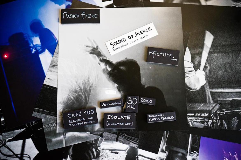 Ausstellung sound of silence rficture reiko fitzke dresden