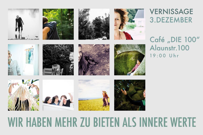Einladung zur Ausstellung Schoenheizideal Schönheizideal Dresden Cafe 100 Reiko Fitzke rficture Tobias Heinemann Cornelia Seltmann